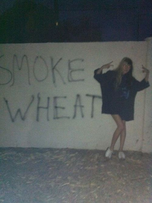 Smoke wheat!