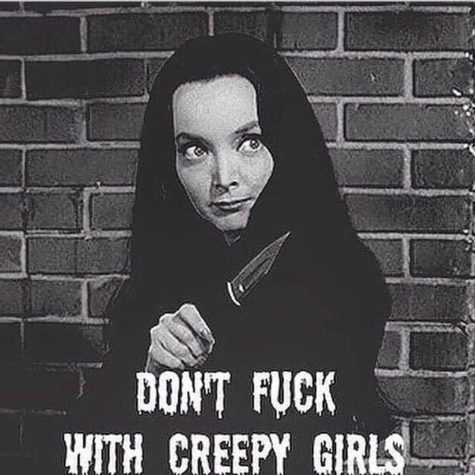 Don't fuck with creepy girls!