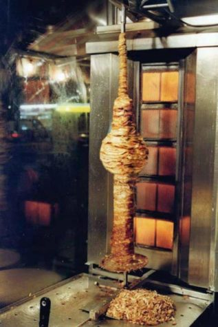 Berlin TV tower doner meat