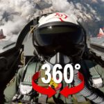 Fighter Jet Patrouille Suisse 360 ​​Experience