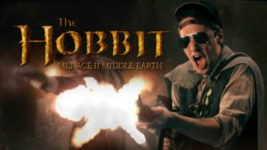 Gangsta Hobbit - Menace II Middle Earth: Hobbit Rap Battle