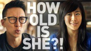 How Old Is She? - Das Alter junger Frau schätzen
