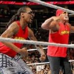 Wrestling: Snoop Dogg and Hulk Hogan in the ring