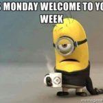 É segunda-feira. Bem-vindo ao seu Week!