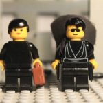 Lego Matrix Lobby Lotta Scene