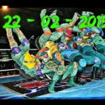 Mexikanische Teenage Mutant Ninja Turtle Wrestler