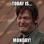 Vandaag is het maandag…