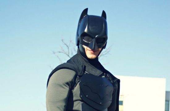 Real-vita costume di Batman