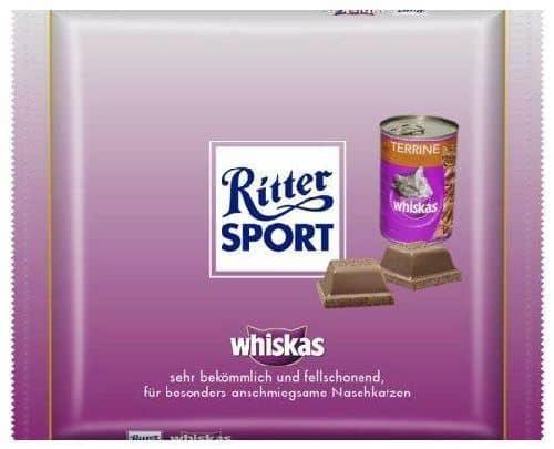 Ritter Sport Whiskas