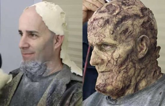 "Scott Ians (Mjältbrand) Zombie-Tod in einer Gastrolle bei ""The Walking Dead"""