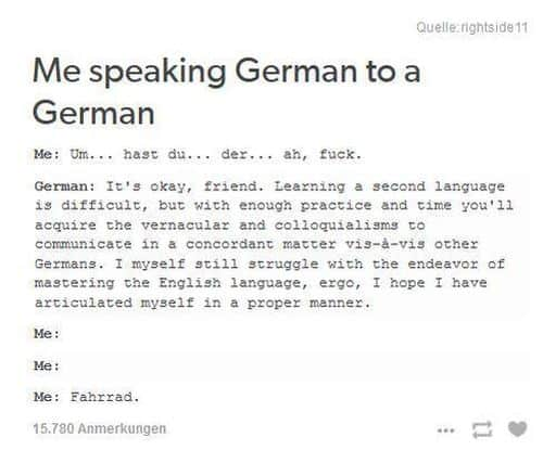 Speak English in Germany