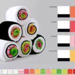 Sushi handdoeken
