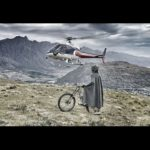 The Hobbit Heli Mountainbike i Nya Zeeland
