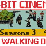 The Walking Dead Staffel 3 & 4 in an 8-bit Summary