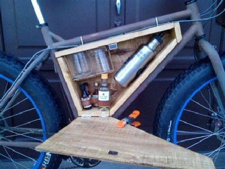 Bicycle minibar