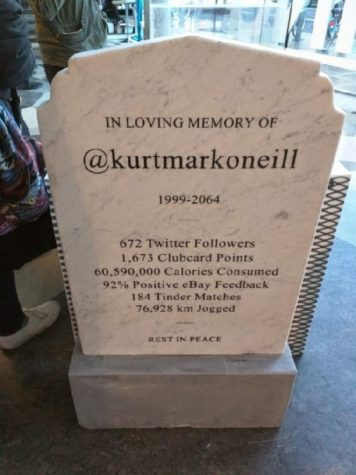 Grave stone of the future
