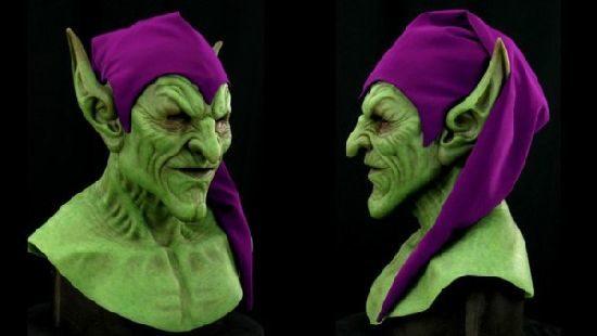 Vihreä Menninkäinen Maske