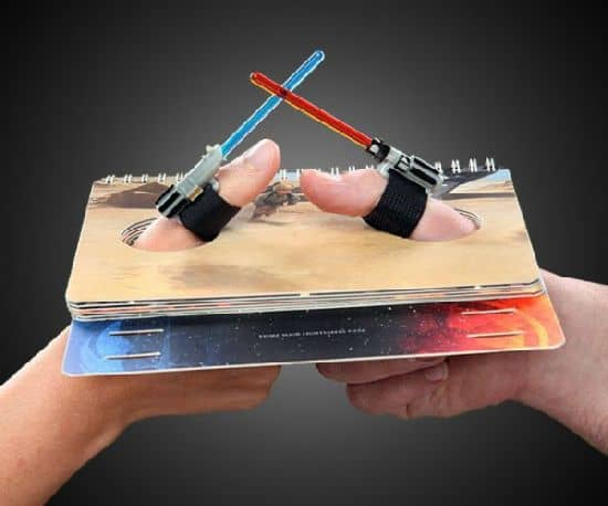 Star Wars Lightsaber Thumb Wrestling Kit