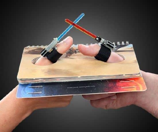 Stjerne Wars Lyssværd Thumb Wrestling Kit