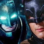 """Batman Superman V"" Adam Batı ve Christopher Reeve ile"