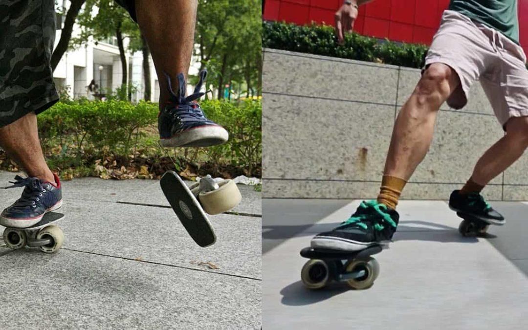 orgie Skateboards Alice i eventyrland