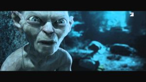 Gollum und der Osterhase
