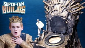 Iron Throne: How to build the ultimate toilet