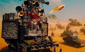 Mad Max - Flammenwerfergitarre