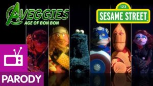 Sesame Street: The Aveggies - Age of Bon Bon (Avengers Parodie)