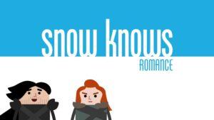 Snow Knows: Animierte Serie zeigt, was Jon Snow wirklich weiss