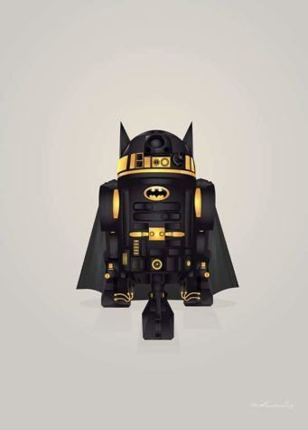 Star Wars Superhelden mashups