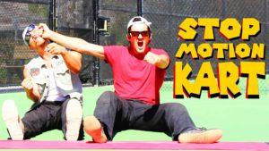 Stop-Motion Vida Real Mario Kart