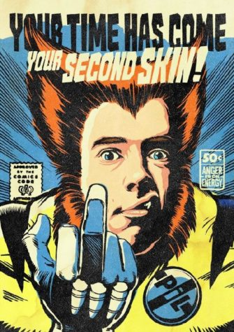 Johnny Rotten do Sex Pistols e Public Image Ltd como Wolverine