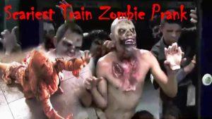 U-Bahn Zombie Streich