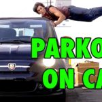 5 Stunts Parkour su auto in corsa