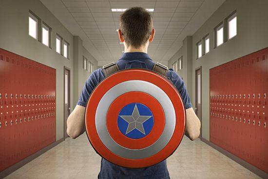 Captain America Schild Rucksack