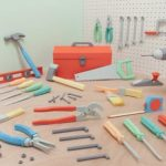 Toolbox made of paper – unfit but nice