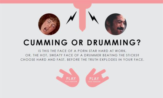 Cumming or Drumming?