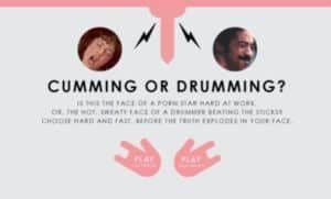 Cumming or Drumming? - Orgasmus oder Schlagzeug?