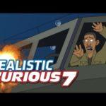 Raivostunut 7: Diese Animation beweist, dass die Stunts unmöglich sind