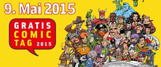 Gratuit Comic Book Day 2015