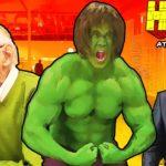 Hulk at the Office
