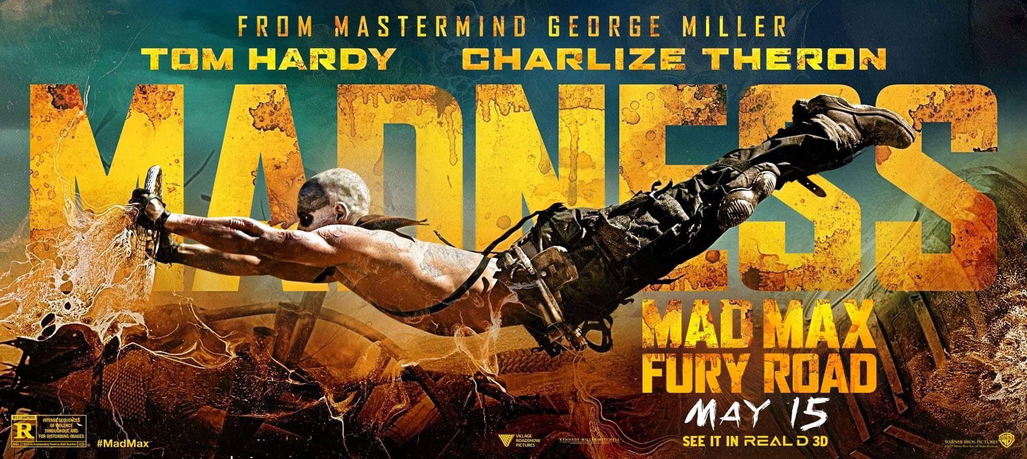 Image result for mad max fury road film banner