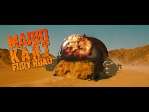 Mario Kart: Fury route (Parodie)