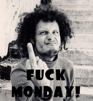 Skit måndag!
