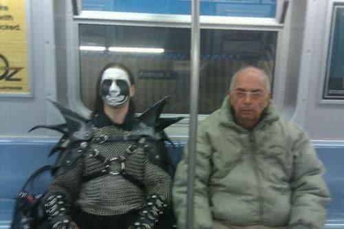 Neulich in der U-Bahn
