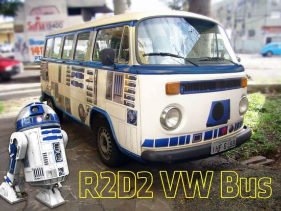 Star Wars: Comment faire un bus R2-D2 se VW