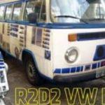 star wars: Hvordan lage en R2-D2 VW bussen selv