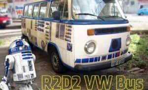 Star Wars: Wie man einen R2-D2 VW Bus selbst macht