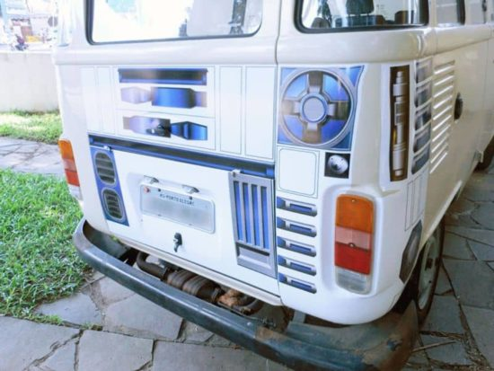 "R2-D2 ""VW"" Edition pronto per la strada!"